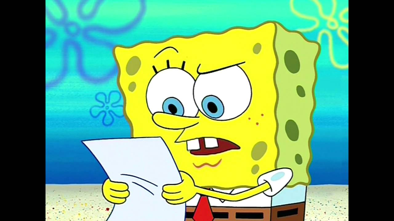 The physical limitations of life underwater spongebob