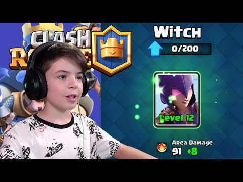 WITCH LEVEL 12 - Clash Royale