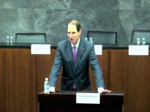 Senator Ron Wyden Discusses Drones, Targeted Killings and Secret Law