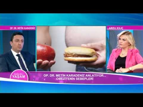 Op. Dr. Metin KARADENİZ - OBEZİTE VE CERRAHİ TEDAVİ YÖNTEMLERİ (Gastrik Bypass) - 360 TV
