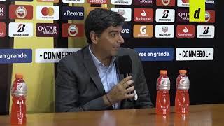 """""""No te vas nada conforme"""": la versión de River Plate post partido en el Nacional"""