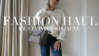 Fashion Haul | Céline, Acne, Alexander Wang, ASOS.