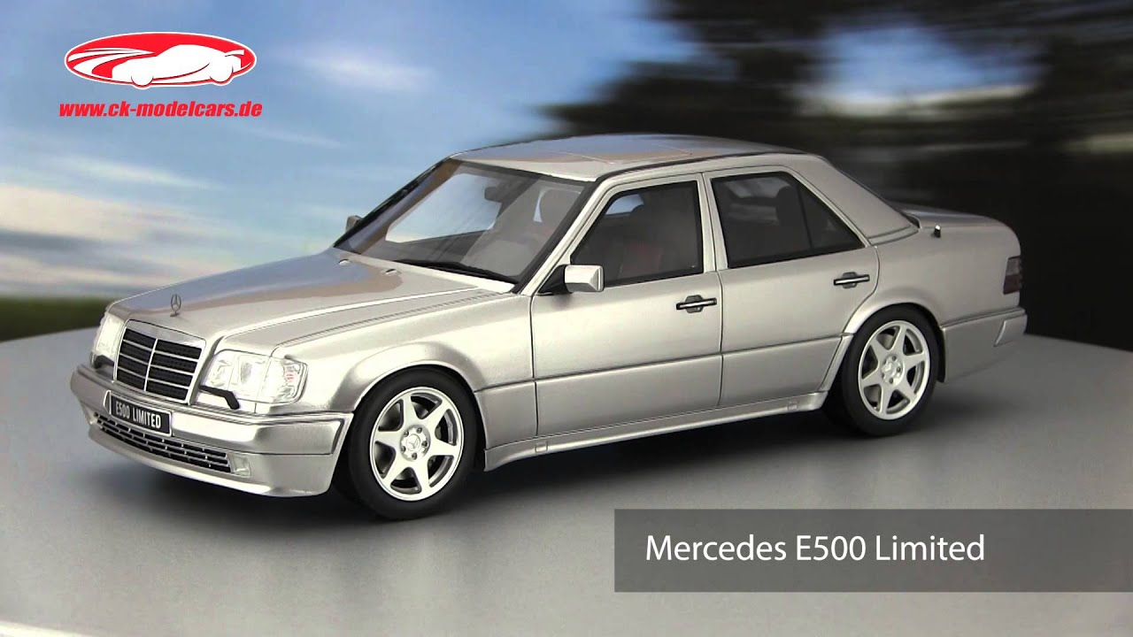 Ck modelcars video mercedes benz e500 limited baujahr 1994 ottomobile