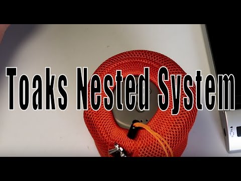 Toaks Nested System Backpacking