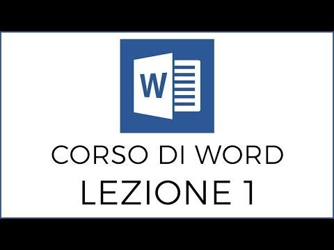 1- Corso di Word: Le basi, Salvare un Documento from YouTube · Duration:  4 minutes 13 seconds
