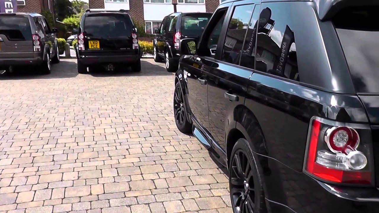 Beadles Santorini Black 2010 Land Rover Range Rover Sport HSE 3l