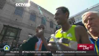 Ethiopians Hayle and Baysa win 120th Boston Marathon