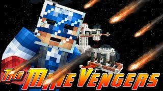 Minecraft MineVengers - CAPTAIN AMERICA GOES TO SPACE!!
