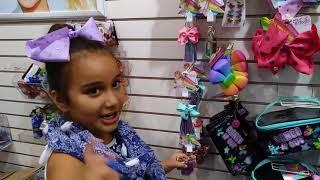 Shopping at Claire's, Jojo Siwa #Claire's, #JoJo Siwa bow bow's, #JoJo Siwa
