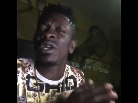Studio session with Shatta Wale