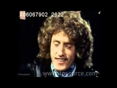 "The Who interview 1979 (""Alright Now"") Roger Daltrey & Pete Townshend"