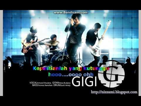 (Karaoke) GiGi - Kepastian Yang Kutunggu (No Vocal + Lyric)
