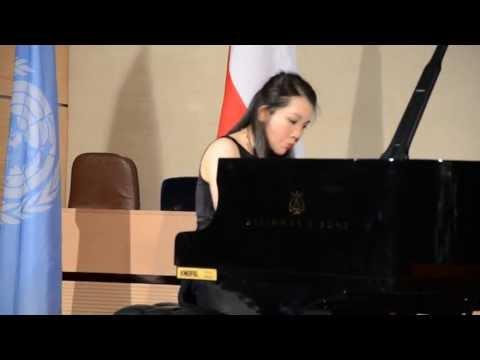 Concert Mélodie Zhao à la Salle des Civilisations des Nations Unies à Genève