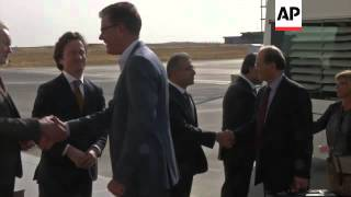 German minister arrives for talks with officials in Kurdish controlled NIraq