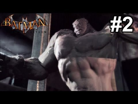 Let's Play Batman: Arkham Asylum [Blind] - #2 | Joker's Litt