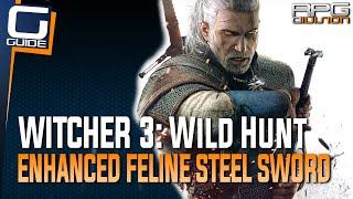 Witcher 3: The Wild Hunt - Enhanced Feline Steel Sword Diagram Location (Cat School Gear)
