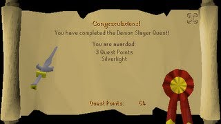 Runescape 2007 Demon slayer quest guide(clear,simple and easy) (Charlie)