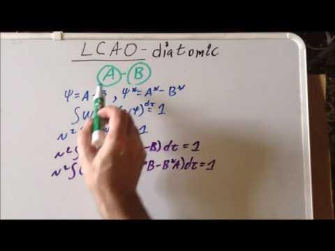 LCAO anti-bonding orbital normalization