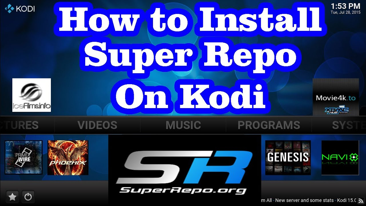 download super tv xbmc