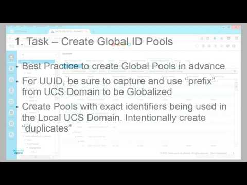 Globalizing UCS Domain Local Service Profiles with UCS Central 2.0