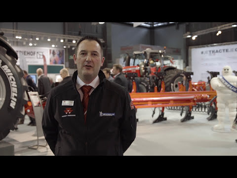 Massey Ferguson, Michelin Grégoire-Besson prove advanced design benefits at SIMA 17