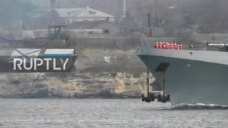Russia  Admiral Grigorovich departs Sevastopol for deployment in Syria   OH