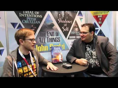 Brandon Sanderson Interview