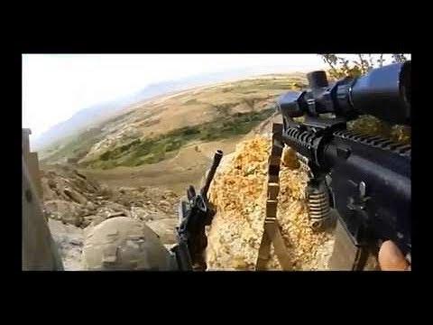 Convoy Ambush in Iraq (HD)