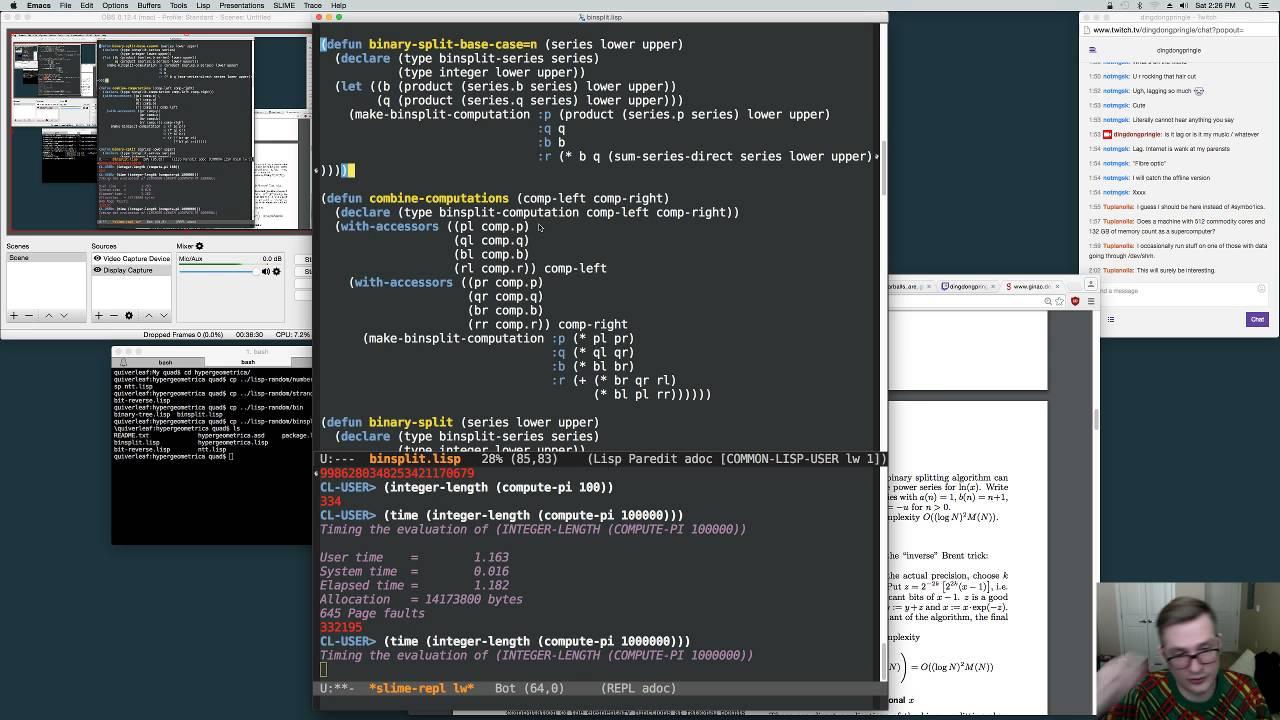 Starting Hypergeometrica In Lisp Part 3