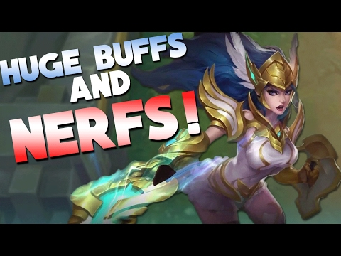 Mobile Legends Huge Franco NERF + Sun BUFF and Much More!