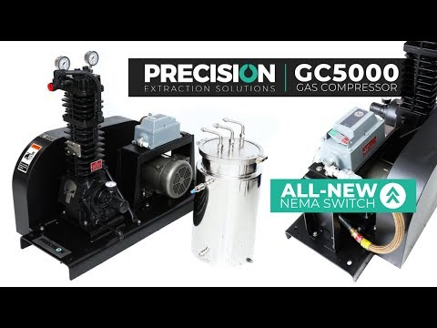 Precision Extraction - Hydrocarbon Extraction Solvent Recovery - GC 5000 And Coil Condenser Tank