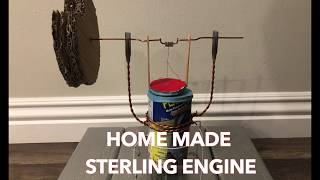 Stirling Engine DIY How To
