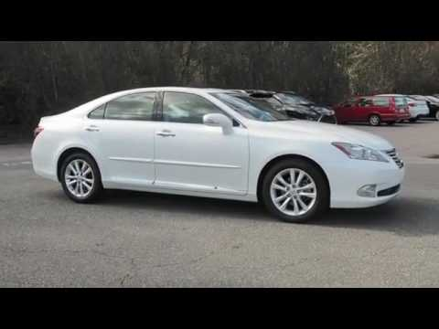 2011 lexus es 350 for sale in raleigh nc youtube. Black Bedroom Furniture Sets. Home Design Ideas