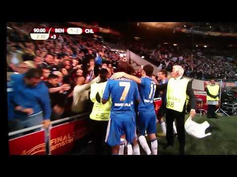 Chelsea vs. Benfica 2-1 15/5/13 Ivanovic's goal