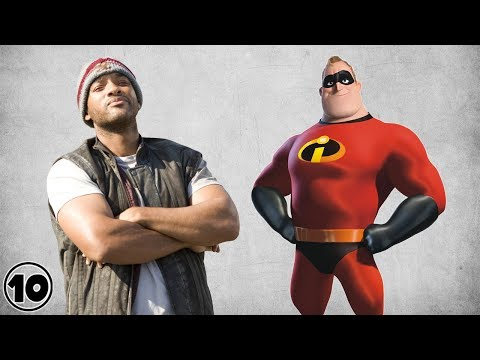 Top 10 Superheroes Not From Comic Books