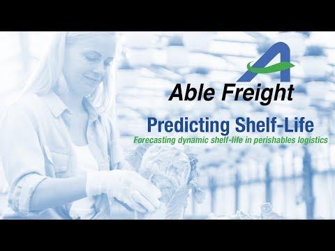 Predicting shelf-life in perishables logistics
