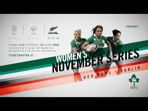 Irish Rugby TV: Canada Women v New Zealand Women