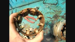 генератор мотоцикла Минск  -  ремонт(, 2016-05-15T21:41:23.000Z)