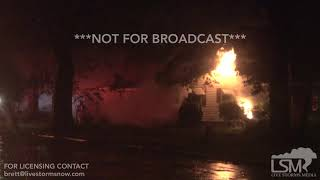 9-14-2018 New Bern, NC Extensive surge flooding, house fire, apartments flood Hurricane Florence