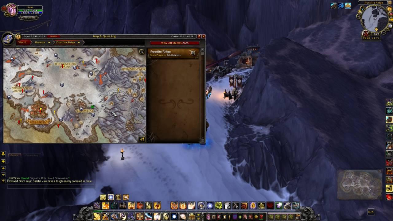 Iron Waystation Explore Frostfire Ridge Youtube