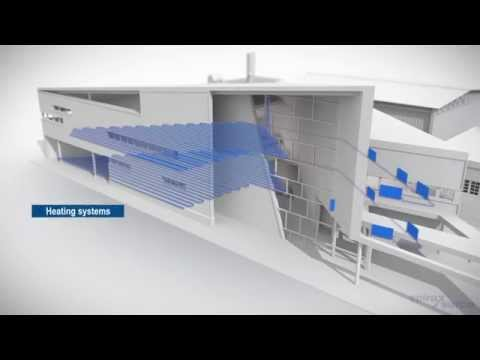 Spirax Sarco Heat Pipe Heat Exchanger CGI Animation