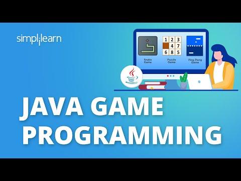 Java Games | Java Game Programming | Java Game Tutorial For Beginners | Simplilearn