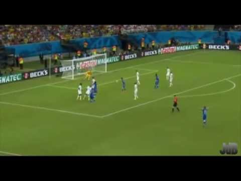 Andrea Pirlo England vs Italy the Pass Master Compilation FIFA World Cup 2014