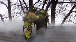elmwood park nj fire department 2nd alarm fire 103 boulevard fire in a garden apartment complex