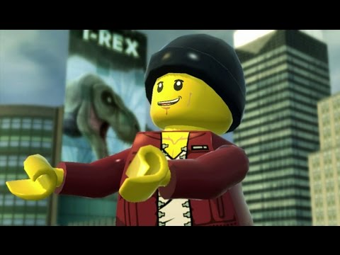 Lego City Undercover Walkthrough Part 10 T Rex Escape Youtube