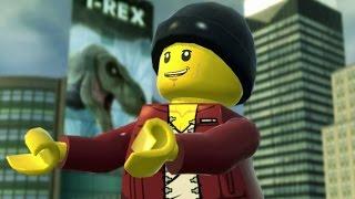 LEGO City Undercover Walkthrough Part 10 - T-Rex Escape