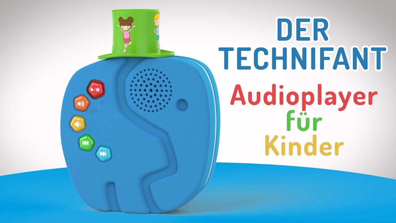 Video: TECHNIFANT–Geschichtenerzähler, Nachtlicht und bester Freund.Der Audioplayer für Kinder. | TechniSat