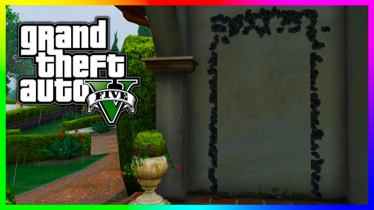 GTA 5 Hidden Mystery Door Located Outside Michael\u0027s House! (GTA V) & GTA 5 Hidden Mystery Door Located Outside Michael\u0027s House! (GTA V ...