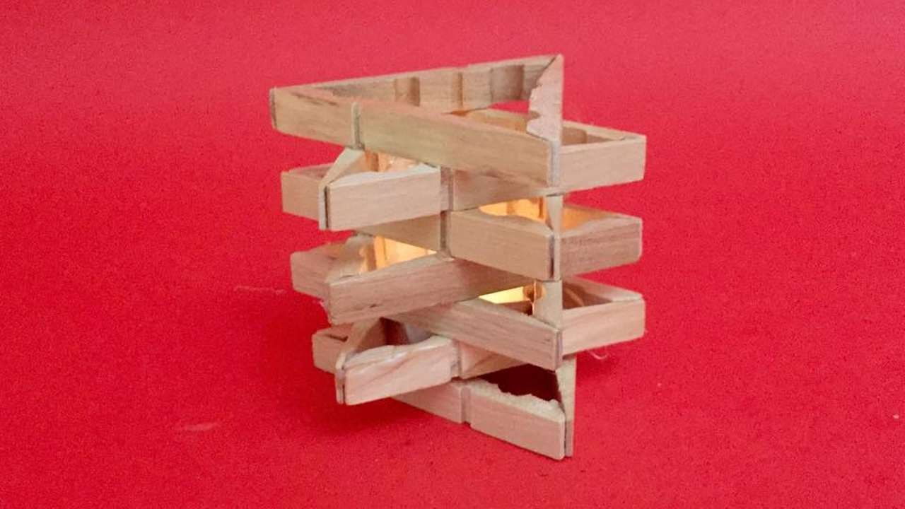 Wooden candle holders crafts - How To Create A Pretty Candle Holder Diy Crafts Tutorial Guidecentral
