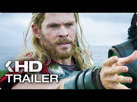 "THOR 3: Ragnarok ""Hela Destroys Mjolnir' Clip & Trailer (2017)"